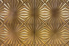 Gold Mid Century Room Divider Italy ca 1970s - 774470