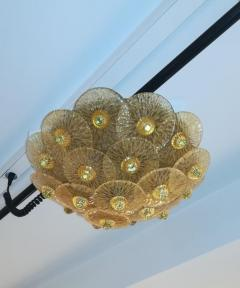 Golden Crystal Ceiling Light Small Model - 1090646