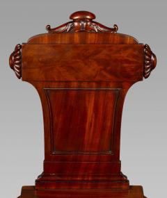 Good Pair Regency Mahogany Hall Chairs - 993821