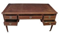 Good Quality French Louis XVI Style Gilt Bronze Mounted Walnut Writing Desk - 1297211
