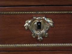 Good Quality French Louis XVI Style Gilt Bronze Mounted Walnut Writing Desk - 1297212