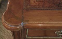 Good Quality French Louis XVI Style Gilt Bronze Mounted Walnut Writing Desk - 1297213