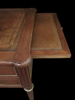 Good Quality French Louis XVI Style Gilt Bronze Mounted Walnut Writing Desk - 1297215