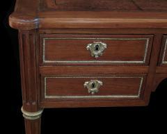 Good Quality French Louis XVI Style Gilt Bronze Mounted Walnut Writing Desk - 1297226