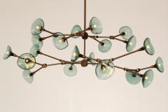 Gordon Auchincloss The Olivia 20 chandelier An adjustable dimmable LED fixture  - 1969543