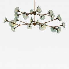 Gordon Auchincloss The Olivia 20 chandelier An adjustable dimmable LED fixture  - 1972814