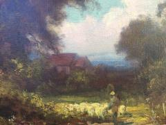 Gordon Coutts Shepherd Tending His Flock - 1693751