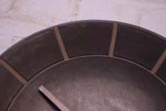 Gordon Jane Martz Gordon and Jane Martz for Marshall Studios Stoneware Wall Clock - 1371648