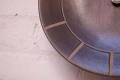 Gordon Jane Martz Gordon and Jane Martz for Marshall Studios Stoneware Wall Clock - 1371649
