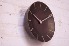 Gordon Jane Martz Gordon and Jane Martz for Marshall Studios Stoneware Wall Clock - 1371652