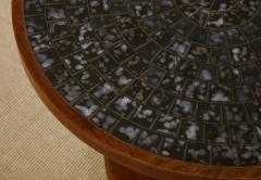 Gordon Jane Martz Round side table with exceptional ceramic top - 1148050