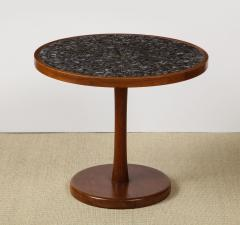 Gordon Jane Martz Round side table with exceptional ceramic top - 1148053