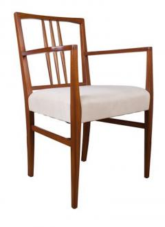 Gordon Russell GORDON RUSSELL TULIP WOOD DINING TABLE AND SIX CHAIRS - 1921499