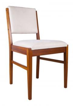 Gordon Russell GORDON RUSSELL TULIP WOOD DINING TABLE AND SIX CHAIRS - 1921500