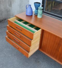 Gorgeous Teak 2 Slider Sideboard w Left Bank Of Drawers - 2133692