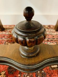 Gothic Renaissance Style Oak Side Chair a Pair - 1639936