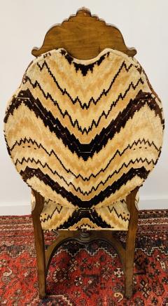 Gothic Renaissance Style Oak Side Chair a Pair - 1639938