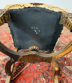 Gothic Renaissance Style Oak Side Chair a Pair - 1639939