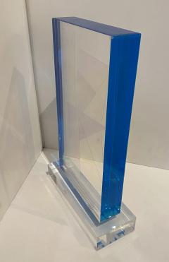 Grace Absi American Modern Monolithic Hand Colored Lucite Sculpture Grace Absi - 1661893