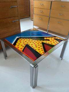 Graffiti side table - 2067694