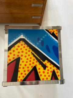 Graffiti side table - 2067696