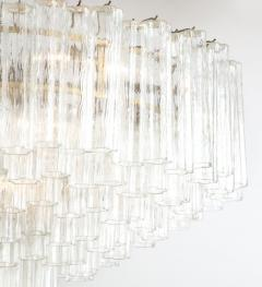 Grand Large Murano Glass 1970s High Style Chandelier - 2065814