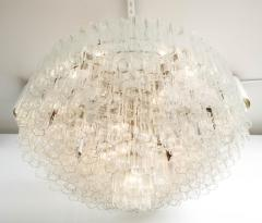 Grand Large Murano Glass 1970s High Style Chandelier - 2065824