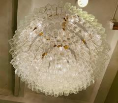 Grand Large Murano Glass 1970s High Style Chandelier - 2065838