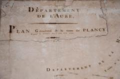 Grand Plan of the Estate of the Chateau de Plancy - 1059139