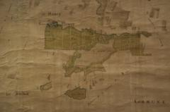 Grand Plan of the Estate of the Chateau de Plancy - 1059143