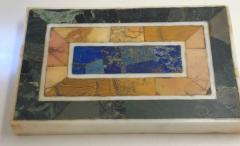 Grand Tour Inlaid Marble Specimen Paperweight Early 20th Century - 1307752