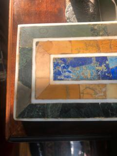 Grand Tour Inlaid Marble Specimen Paperweight Early 20th Century - 1307753