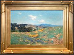 Granville Redmond Poppies and Lupine in a Landscape - 313346