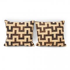 Graphic Kuba Cloth Cushions - 1390727