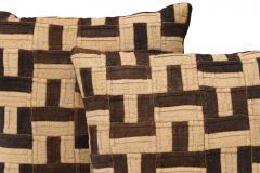 Graphic Kuba Cloth Cushions - 1390740