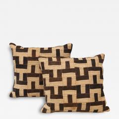 Graphic Kuba Cloth Cushions - 1407318