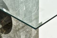 Graphic Tessellated Marble Console Table 1980 - 2055037
