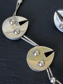 Graziella Laffi Set of Sterling Silver Necklace and Earrings Graziella Laffi - 2036840
