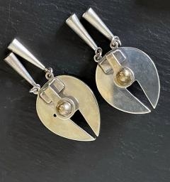 Graziella Laffi Set of Sterling Silver Necklace and Earrings Graziella Laffi - 2036847