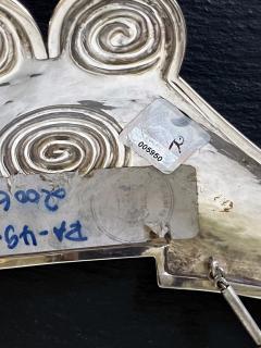 Graziella Laffi Sterling Silver Necklace with Large Pendant Graziella Laffi - 2036867
