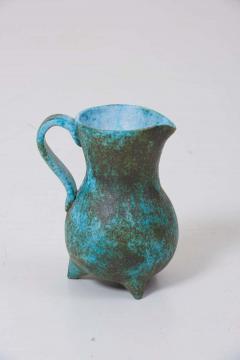 Green Ceramic Vase by Portier - 1412080