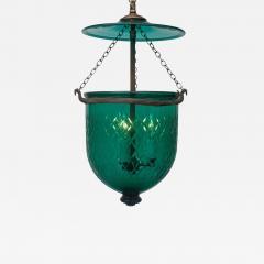 Green Diamond Cut Bell Jar Lantern - 1198950