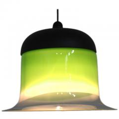 Green Glass Pendant by Putzler Germany 1960s - 802139