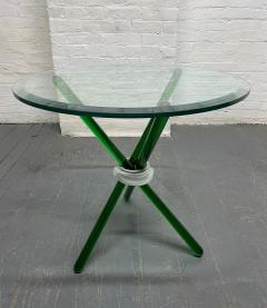 Green Murano Glass Side Table - 1954079