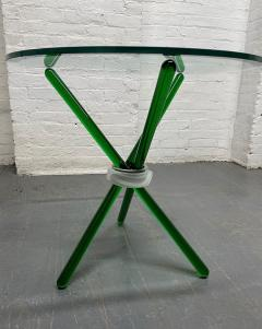 Green Murano Glass Side Table - 1954082