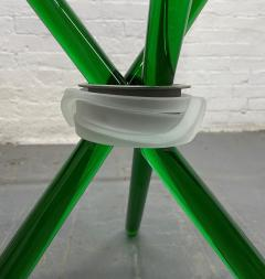 Green Murano Glass Side Table - 1954083