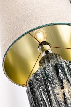 Green stone lamp - 2102568