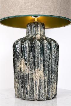 Green stone lamp - 2102569