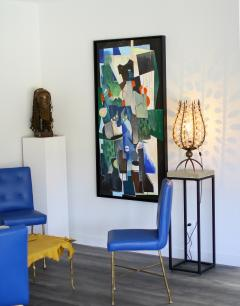 Greg Mathias Cubist Painting - 1224907