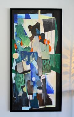 Greg Mathias Cubist Painting - 1224908